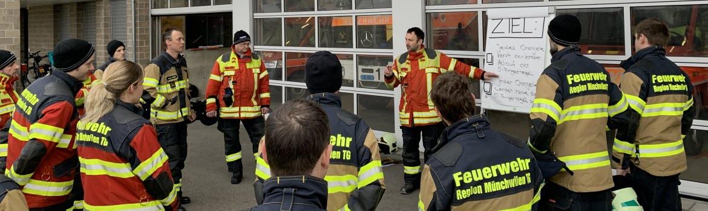 Geschicklichkeitsfahren Mnchwilen TG - Feuerwehr Region